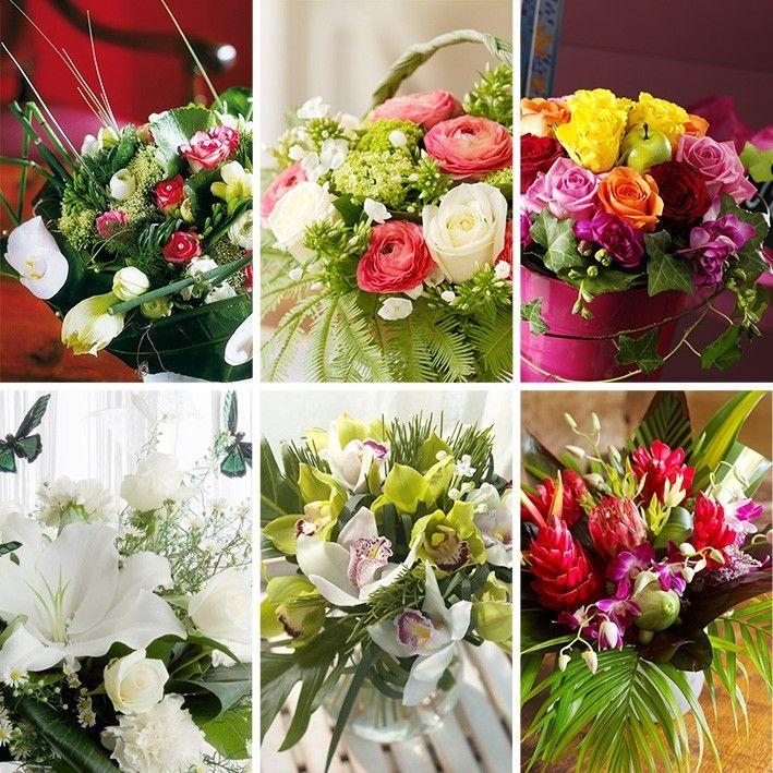 bouquet sur mesure hibiscus fleurs livraison sur nantes et son agglom ration 44. Black Bedroom Furniture Sets. Home Design Ideas