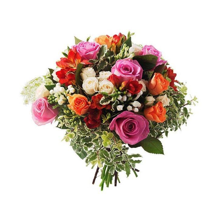 Bouquet rond CHARLOTTE - Hibiscus Fleurs