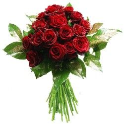 BOUQUET ROSES ROUGE DE NOEL