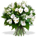 BOUQUET ROND FREESIA ECLAT
