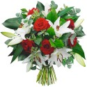 BOUQUET ROND  LYS EMOTION