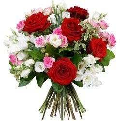 BOUQUET ROND ROMANTICA