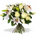 BOUQUET ROND CUPIDON