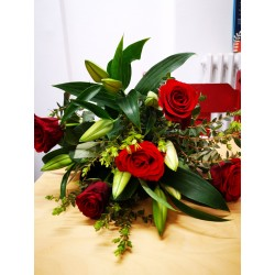 BOUQUET LILI ROUGE