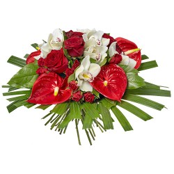 BOUQUET D ANTHURIUM