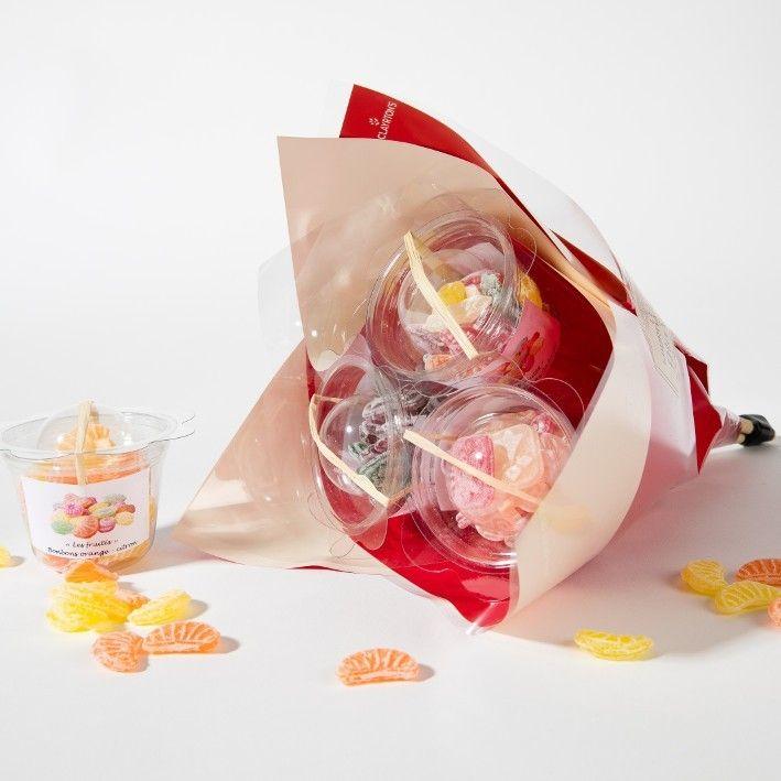 Fleurs de bonbons
