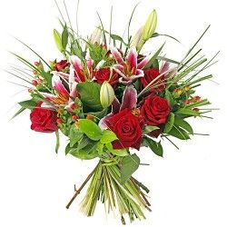 BOUQUET LONGUES TIGES RAFFINEMENT
