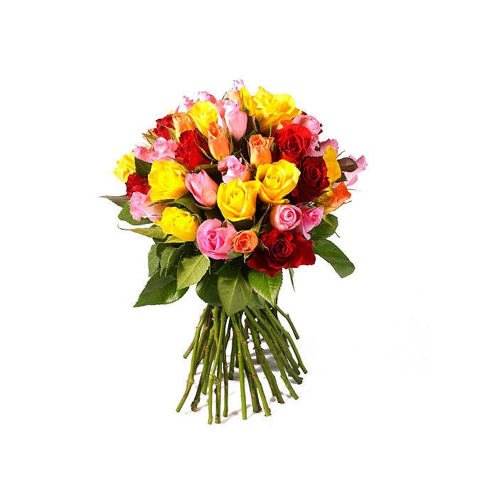BOUQUET ROND 30 roses
