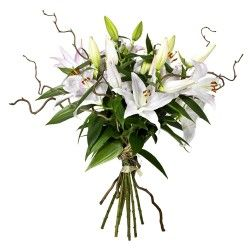 BOUQUET LONGUES TIGES LYS ORIENTAL EXTRA