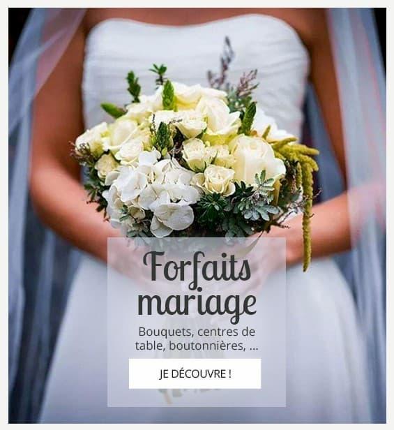 FORFAIT MARIAGE HIBISCUS FLEURS NANTES