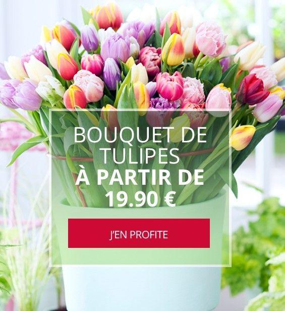 BOUQUET DE TULIPES HIBISCUS FLEURS NANTES
